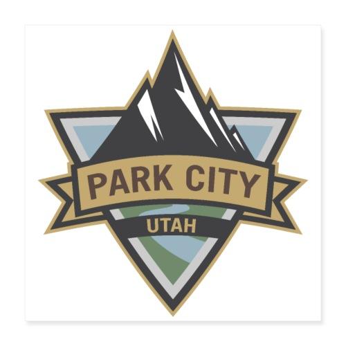Park City, Utah - Poster 16x16