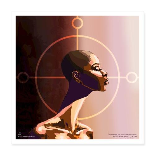 My Ancestors Guide Me - Poster 16x16