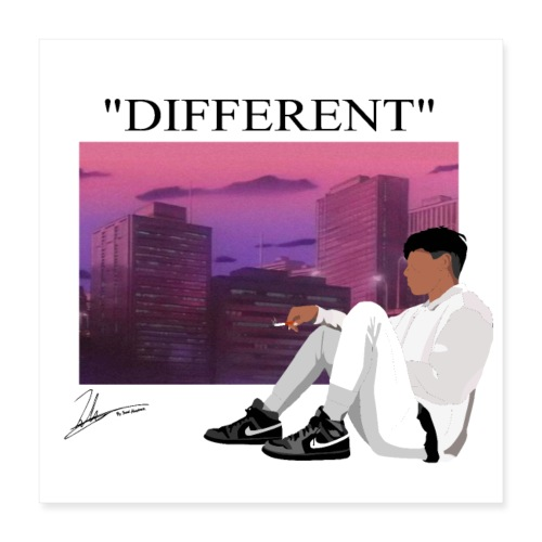 DIFFERENT - Poster 16x16