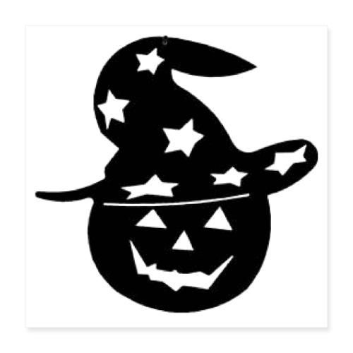 Halloween pumpkin - Poster 16x16