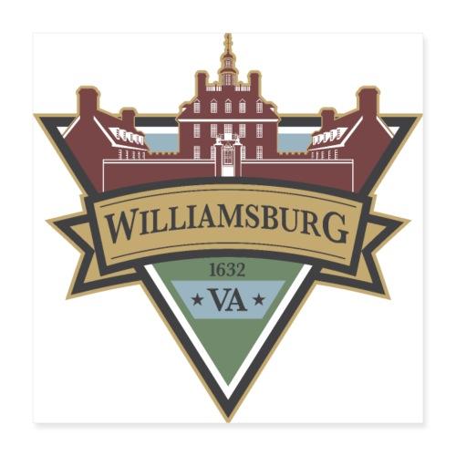 Williamsburg, Virginia, 1632 - Poster 16x16