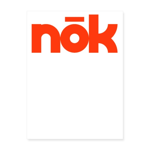 nōk Red - Poster 18x24