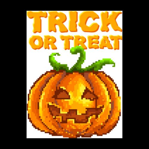 Trick Or Treat Halloween Jack-O-Lantern - Poster 18x24