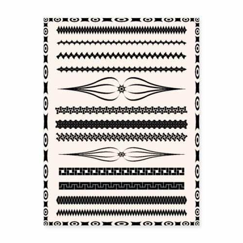 Vintage Pattern - Poster 18x24