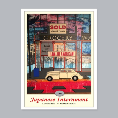 Japanese Internment - Poster 18x24
