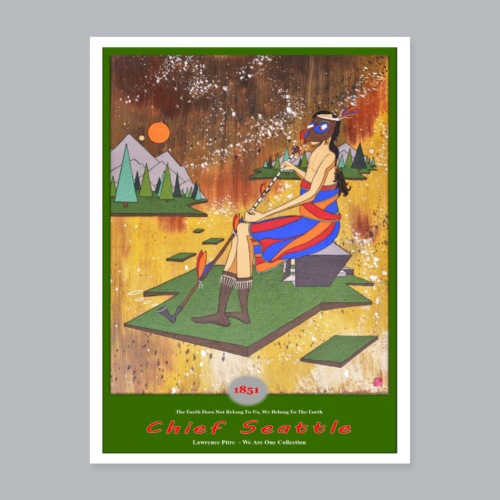 Chief Seattle - Poster 18x24
