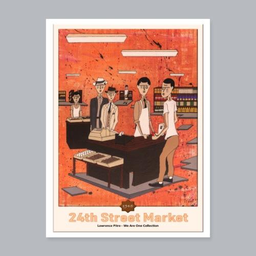 24th Street Market - Poster 18x24