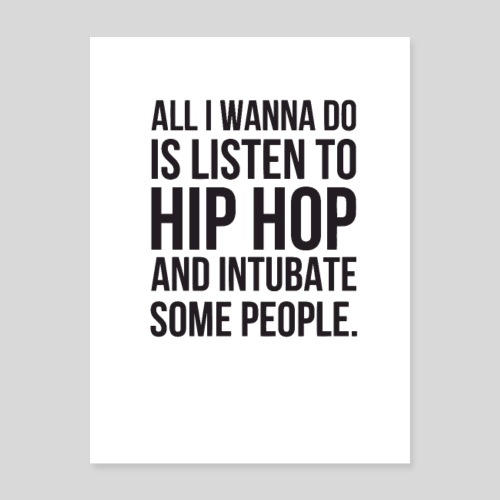 HIPHOP - Poster 18x24