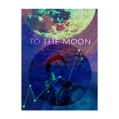 DOGE TO THE MOON - Poster 18x24