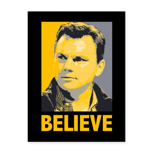 GMBC 'Believe' Poster or Sticker - Poster 18x24