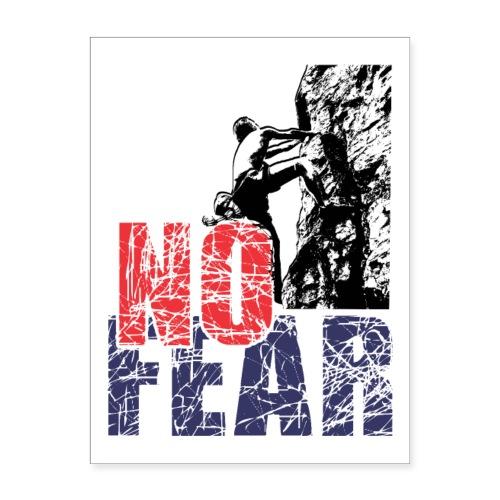 No FEAR - Poster 18x24