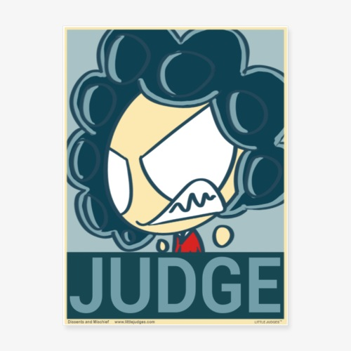 Little Judges - Judge Poster - Poster 18x24