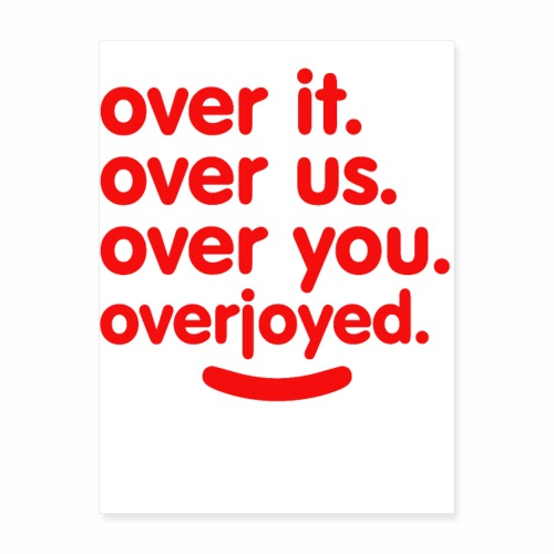 OVER - Poster 18x24