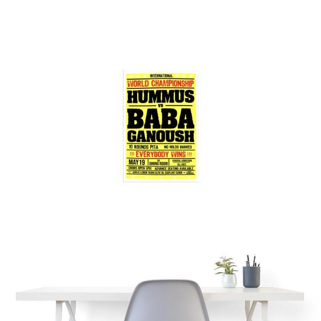 Hummus vs Baba Ganoush