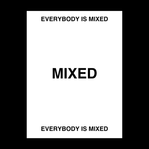 EVERYBODY IS MIXED POSTER - Poster 18x24
