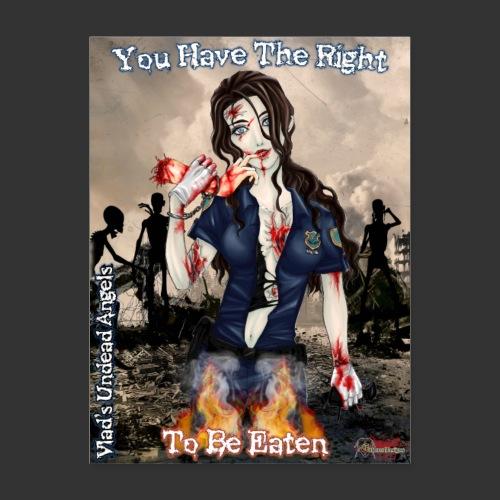 Undead Angels Classics: Zombie Police Terri - Poster 18x24