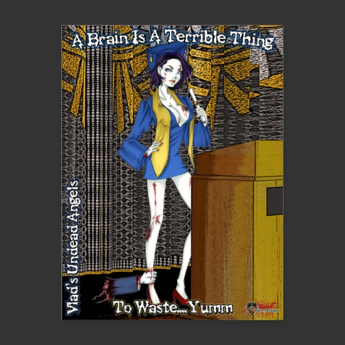 Undead Angels Classics: Zombie Graduate - Poster 18x24