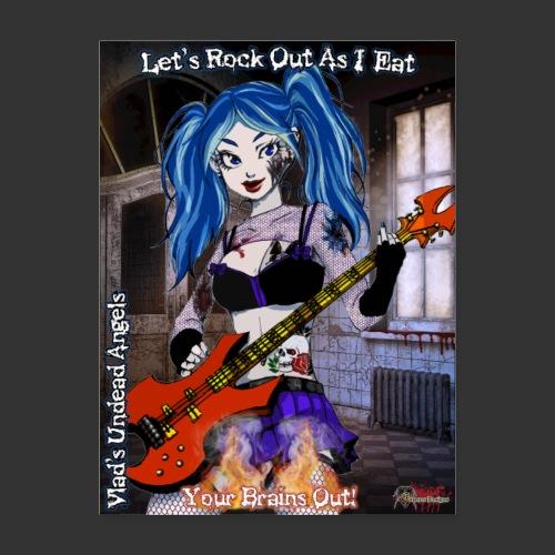 Undead Angels Classics: Zombie Bassist Ashley - Poster 18x24