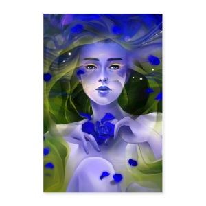 Blue Rose Tea - Poster 24x36