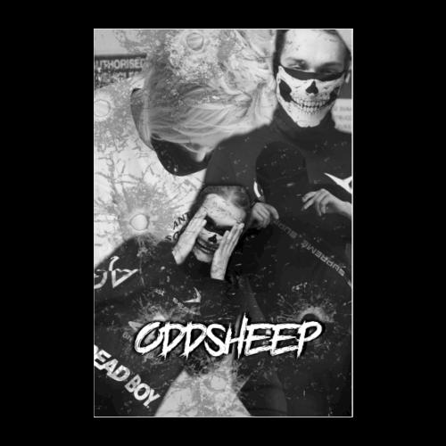 OddSheep Ockie & Yak Poster - Poster 24x36