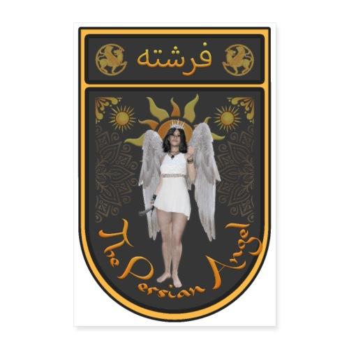 Persian Angel Anahita - Farsi Angel - Poster 24x36