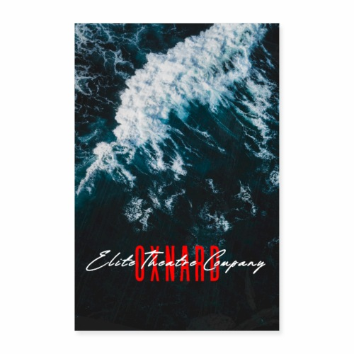 Oxnard Waves - Poster 24x36