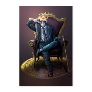 Bitcoin Monkey King - Gamma Edition - Poster 24x36