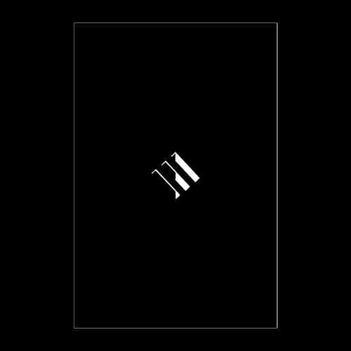 White Logo - Poster 24x36