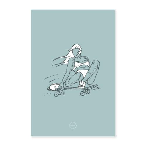Skater Girl - Poster 24x36