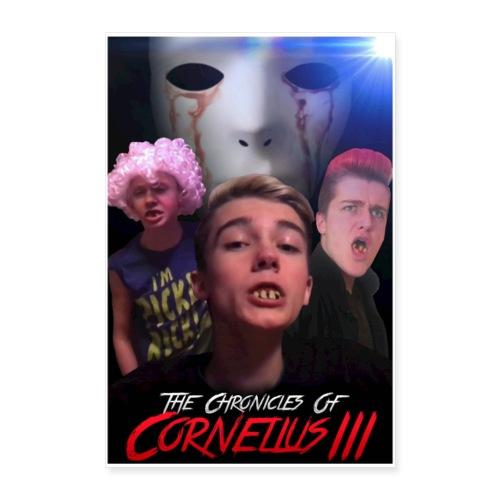 Chronicles of Cornelius III Poster - Poster 24x36