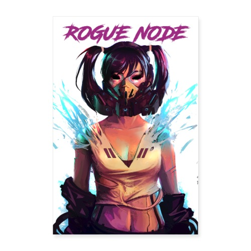 ROGUE NODE POSTER WHITE BACK - Poster 24x36