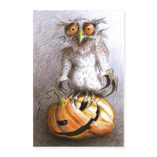 Vampire Owl - Poster 24x36