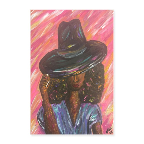 Beauty in the Hat - Poster - Poster 24x36