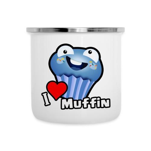 I Love Muffin - Camper Mug