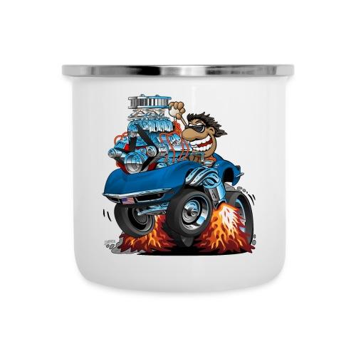 Classic '69 American Sports Car Cartoon - Camper Mug