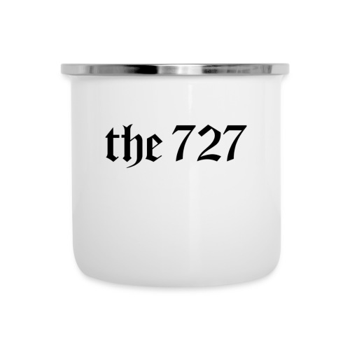 The 727 in Black Lettering - Camper Mug