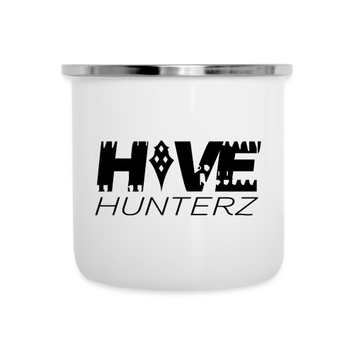 Hive Hunterz Black Logo - Camper Mug