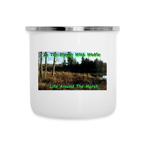 Life Around The MarshMarsh - Camper Mug