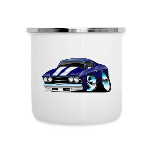 Classic American Muscle Car Cartoon - Camper Mug