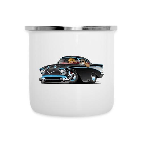 Classic hot rod fifties muscle car - Camper Mug