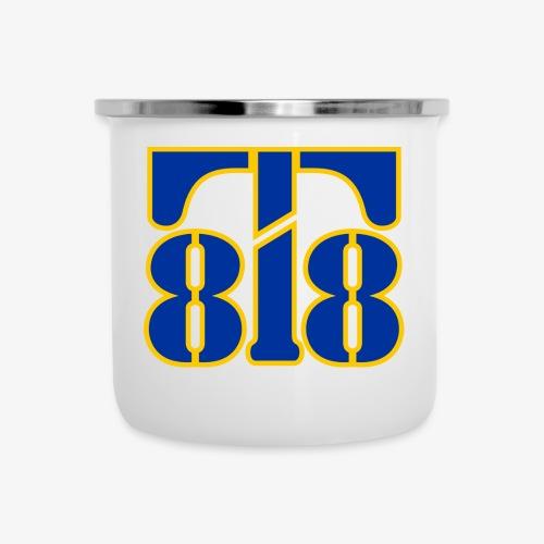 2 tone logo - Camper Mug