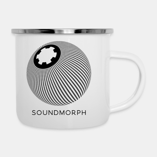 SoundMorph : Dot Matrix Mug - Camper Mug