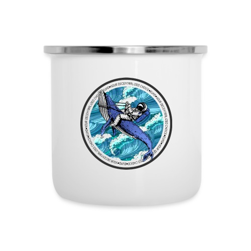 Astronaut Whale - Camper Mug