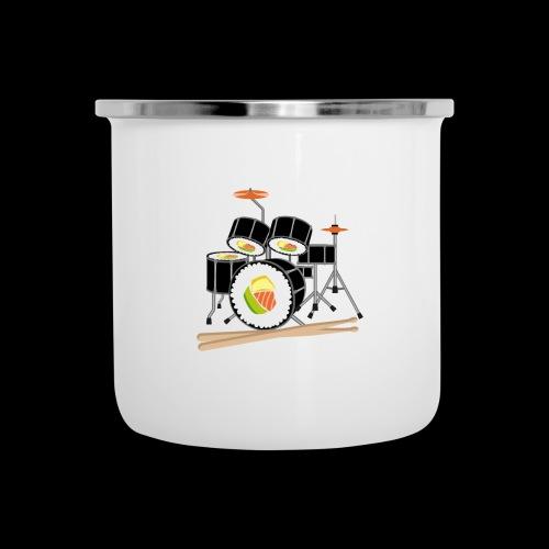 Sushi Roll Drum Set - Camper Mug