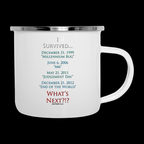 Survived... Whats Next? - Camper Mug
