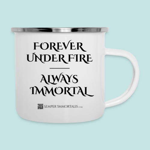 Always Immortal (black) - Camper Mug