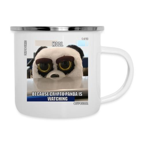 Crypto Panda Is Watching (Crypto Series) - Camper Mug