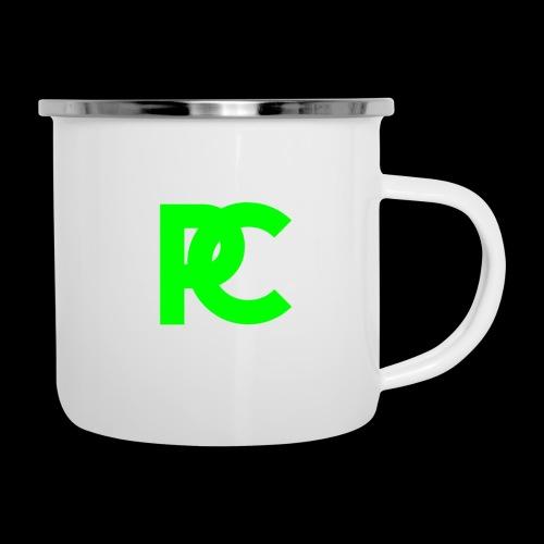 Patrick Calliza Green Logo - Camper Mug