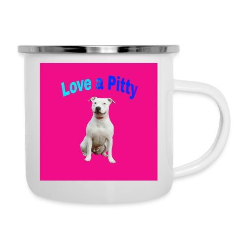 Pink Pit Bull - Camper Mug