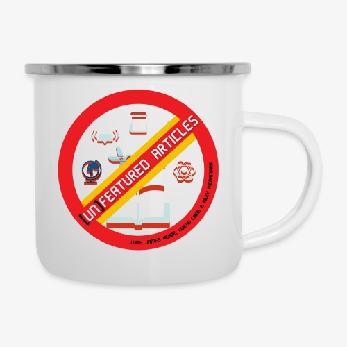 unFeatured Articles Logo - Camper Mug